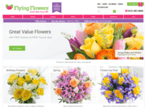 affordable flowers by post