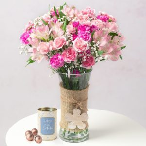 Flowers and Chocolates Gift
