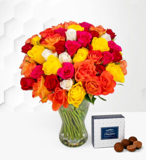 40 Roses - Free Chocs - Flower Delivery - Next Day Flowers - Flowers - Birthday Flowers - Next Day Flower Delivery